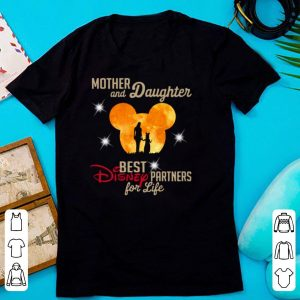 Mickey Moon Mother And Daughter Best Disney Partners For Life shirt