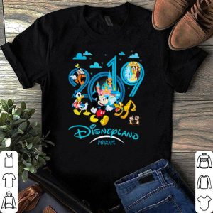 Mickey and friend Disneyland resort 2019 shirt