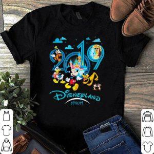 Mickey and friend Disneyland resort 2019 shirt