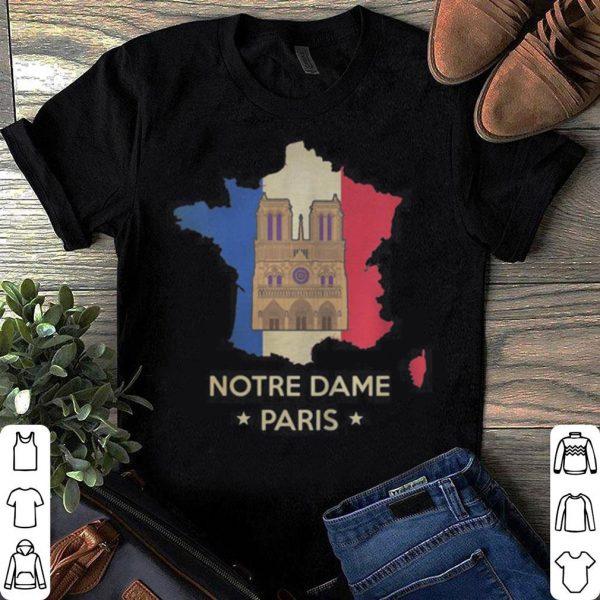 Notre Dame Paris shirt