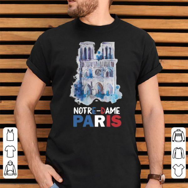 Paris France City Notre Dame Cathedral shirt