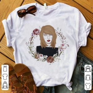 Taylor Swift flowers watercolor shirt