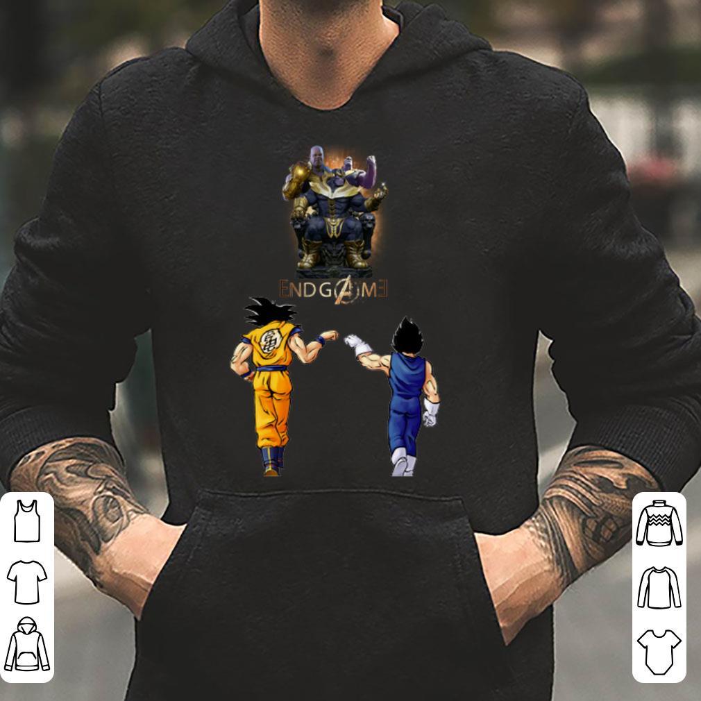 Thanos Endgame Goku And Vegeta shirt 4 - Thanos Endgame Goku And Vegeta shirt