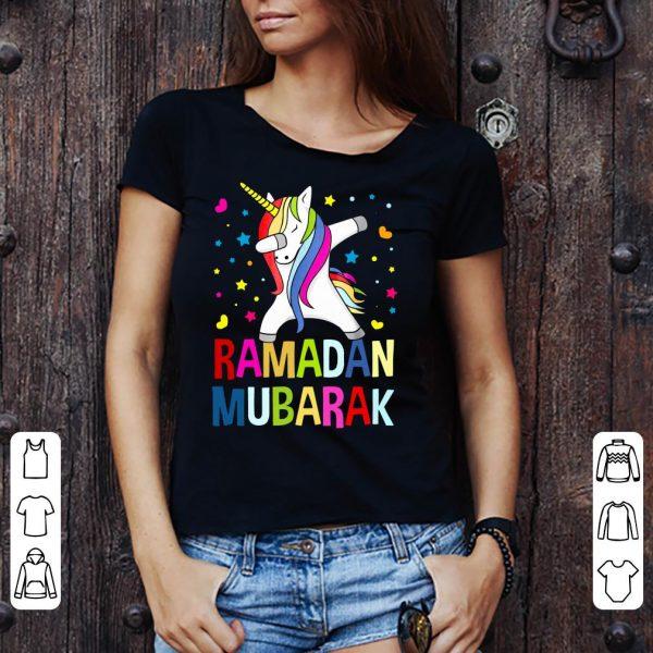 Unicorn Dabbing Ramadan Mubarak shirt
