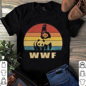 WWF Panda Wrestling Retro shirt