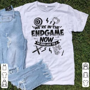 We're In the Endgame Now 14000605 To 1 shirt