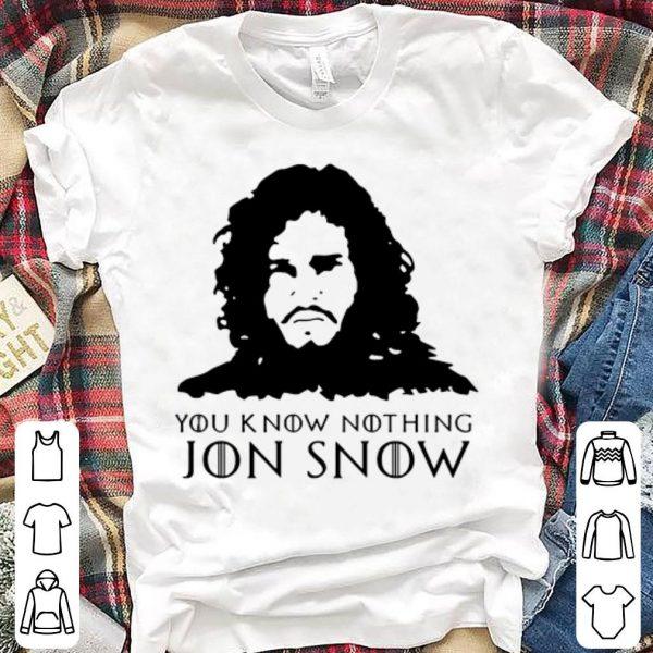 Aegon targaryen you know nothing jon snow game of thrones shirt