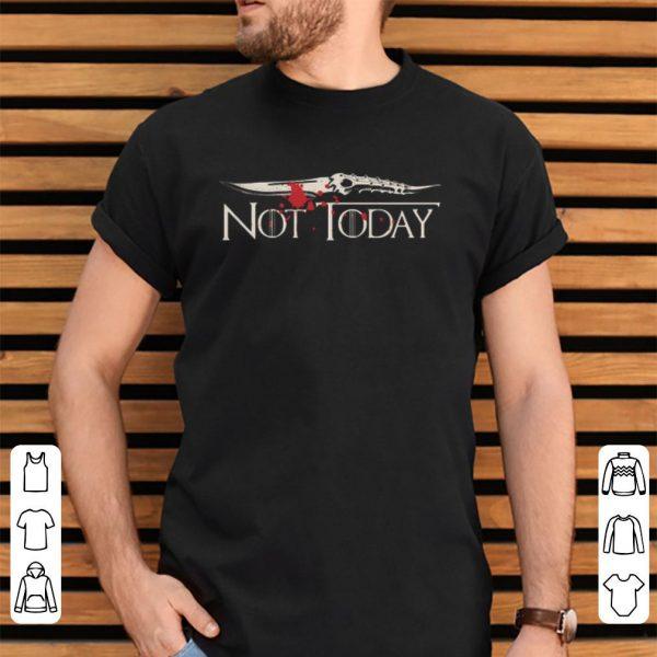 Blood Not today Arya Stark Game of Thrones shirt