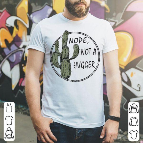 Catus nope not a hugger shirt