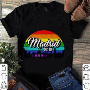 Pride 2019 Rainbow Madrid 2019 shirt
