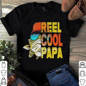 Reel cool papa fishing shirt