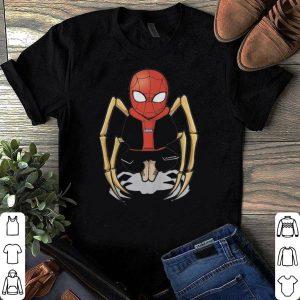 Spider man skeleton shirt