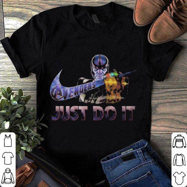 Thanos Avengers Endgame Just do it Nike shirt
