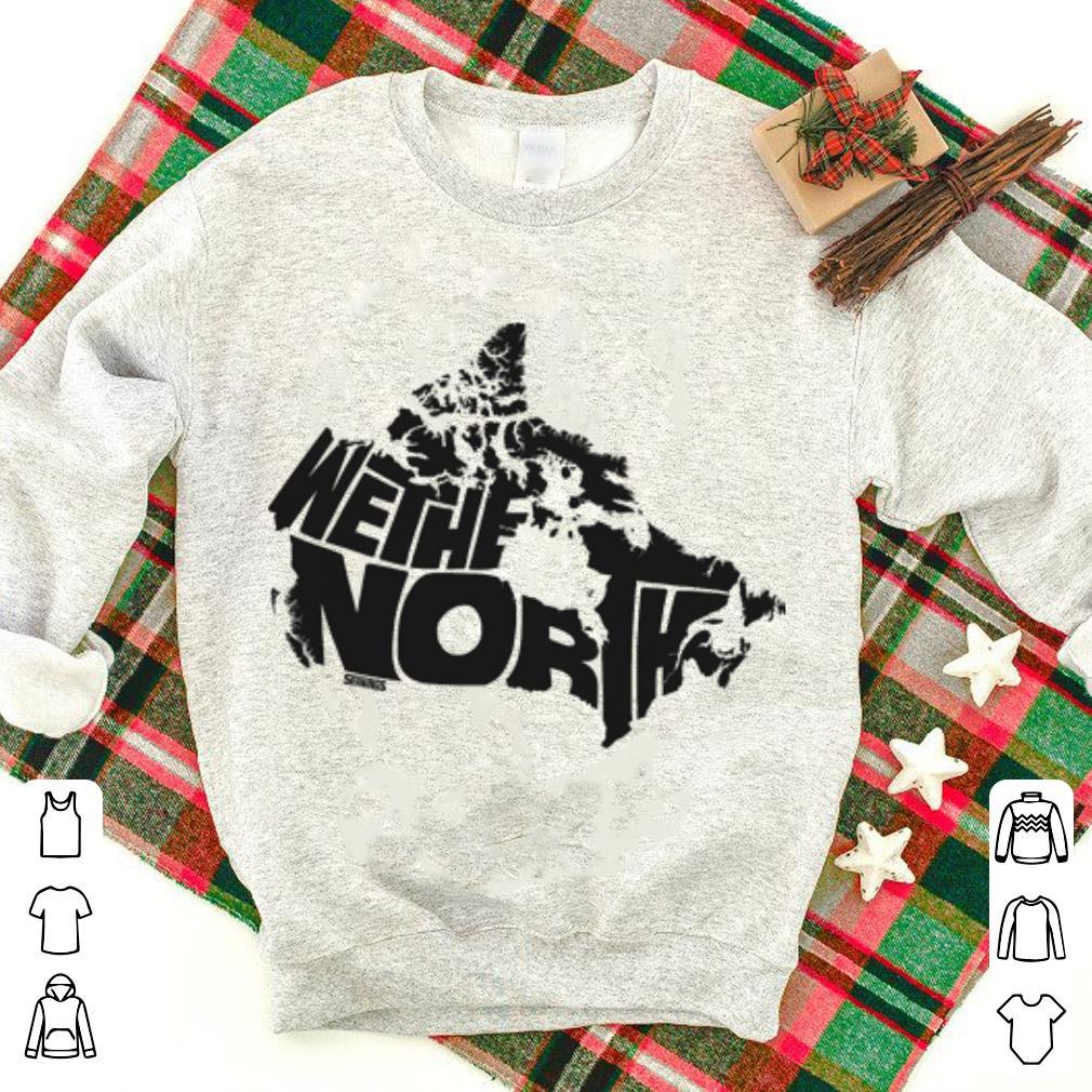 new styles f1137 f64c9 Toronto Raptors We The North shirt
