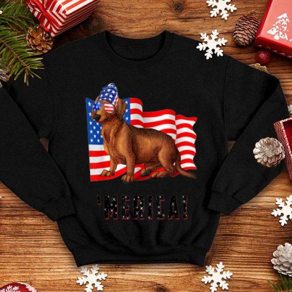 4th Of July Dachshund Dog Merica shirt