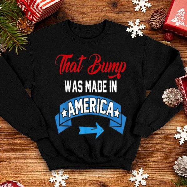 4th of July Pregnancy Announcement for Dad to Be shirt