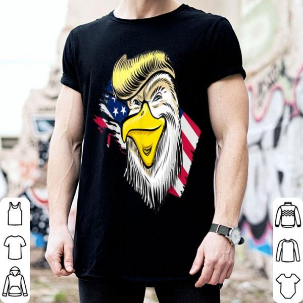 4th of July trump American Flag Eagle shirt