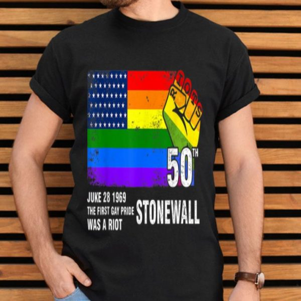 90's Style Stonewall Riots 50th NYC Gay Pride LGBTQ shirt