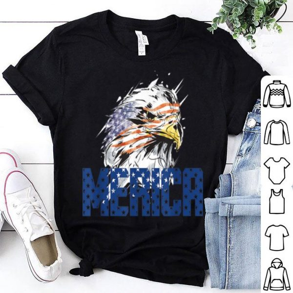 American Bald Eagle 4th Of July Independence Day shirt