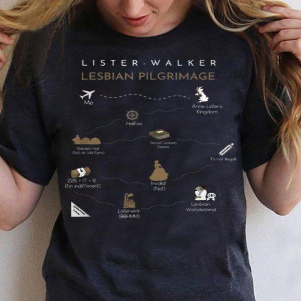 Anne Lister Ann Walker Lesbian Pilgrimage Lesbian Wonderland shirt