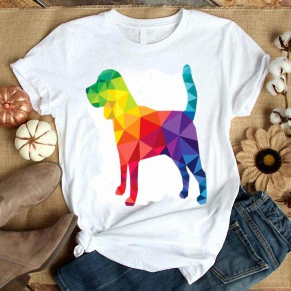 Beagle Gay Pride Lgbt Rainbow Flags Dog Lovers Lgbtq Premium Shirt