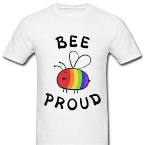 Bee Proud Pocket Pride LGBT Rainbow Shirt
