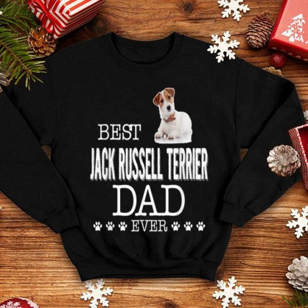 Best Jack Russell Terrier Dad Ever Father's Day Gift Shirt