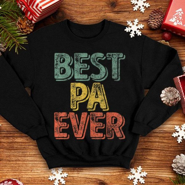 Best Pa Ever Father's Day shirt