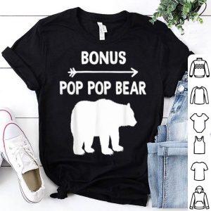 Bonus Pop Pop Hippie Gift For Shirt