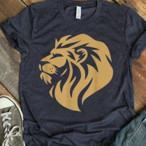 Brave Hunter Lion Wearing Lion King Shirt