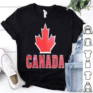 Canada Flag Stars Maple Leaf Shirt