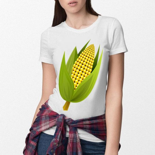 Corn Cob Funny Corn Maize Food Vegetable Gift Tee Shirt