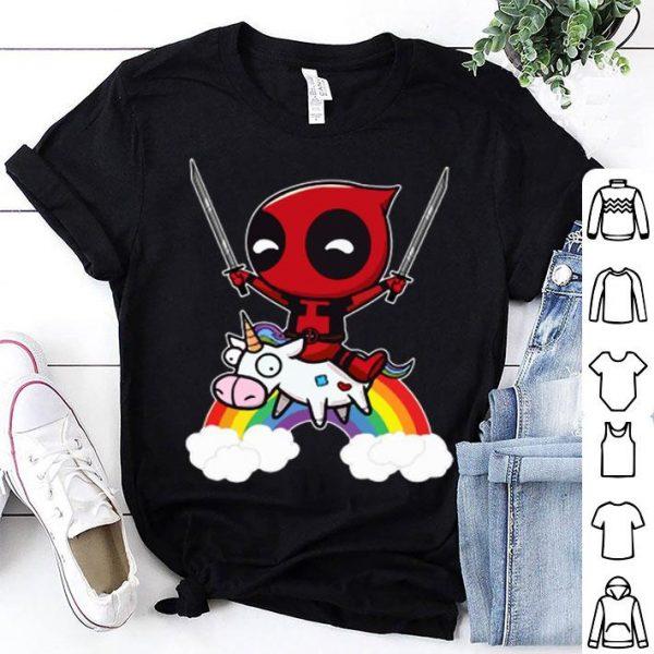 Deadpool Rainbow Unicorn LGBT World Pride shirt