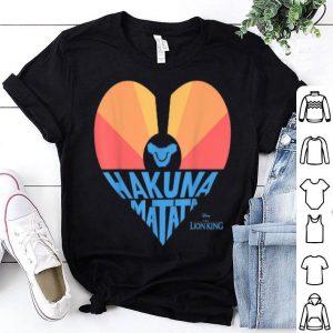 Disney The Lion King Sunrise Heart Hakuna Matata shirt