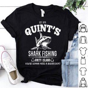 Est 1975 Quint Shark Fishing Amity Island Shirt