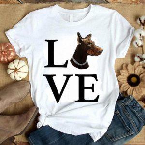 Funny I Love My Dobermann Shirt
