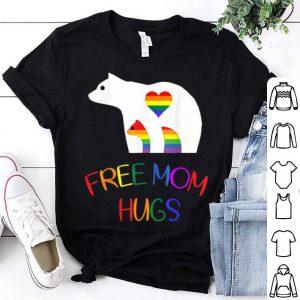 Gay LGBT Pride Mama Bear For Free Mom Hugs Shirt