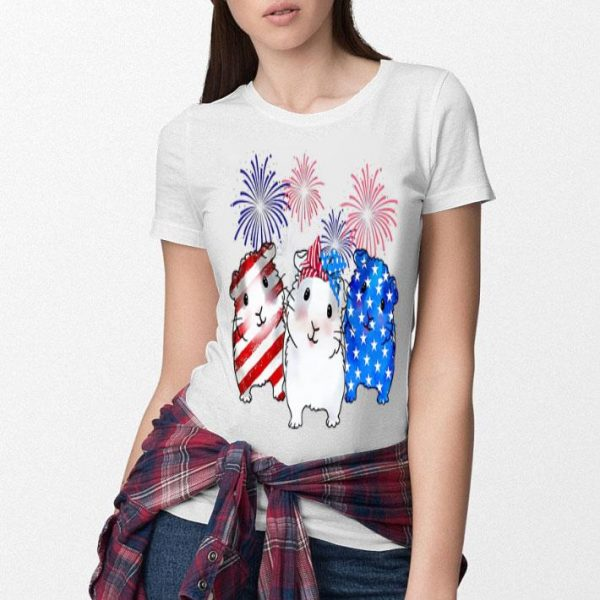 Hamter American Flag Shirt
