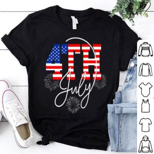 Happy 4 July Great Family Gift American Flag Shirt