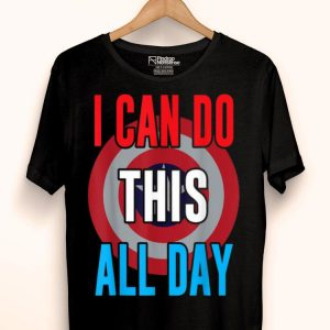 I Can Do This All Day Captain American Shirt