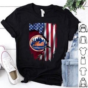 MLB Mashup American Flag New York Mets shirt