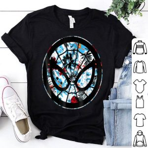 Marvel Spider Man Mask Symbol Tropical Graphic Shirt