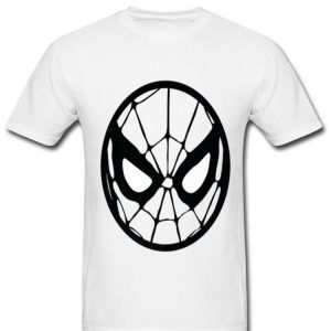 Marvel Spider-man Circle Mask Tonal Logo Premium Shirt