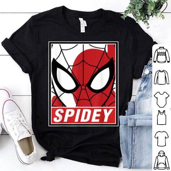 Marvel Spider-man Classic Ornate Spidey Poster Shirt