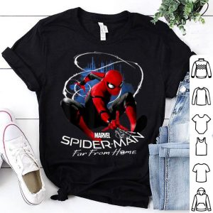 Marvel Spider-man Far From Home Contrasted Isolation Shirt