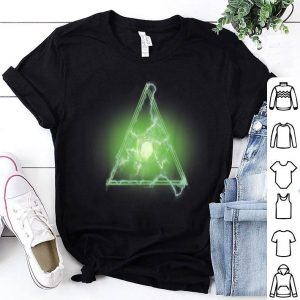 Marvel Spider-man Far From Home Green Eye Triangle Logo Shirt