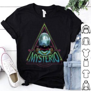 Marvel Spider-man Far From Home Mysterio Triangle Portrait Premium Shirt