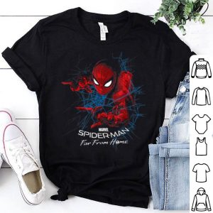 Marvel Spider-man Far From Home Web Stealth Graphic Shirt