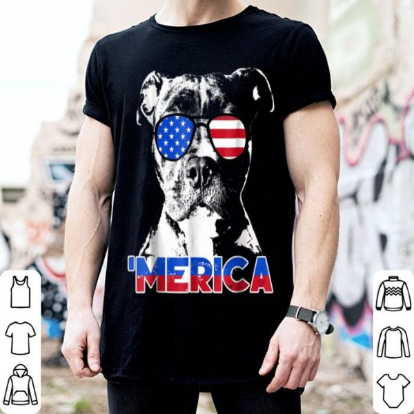 Patriot Pitbull 'merica Tee Shirt