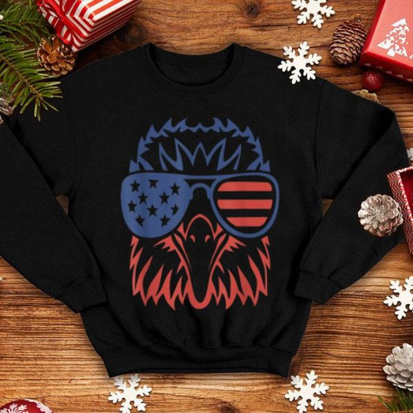 Patriotic Eagle 4th Of July Usa American Flag Shirt